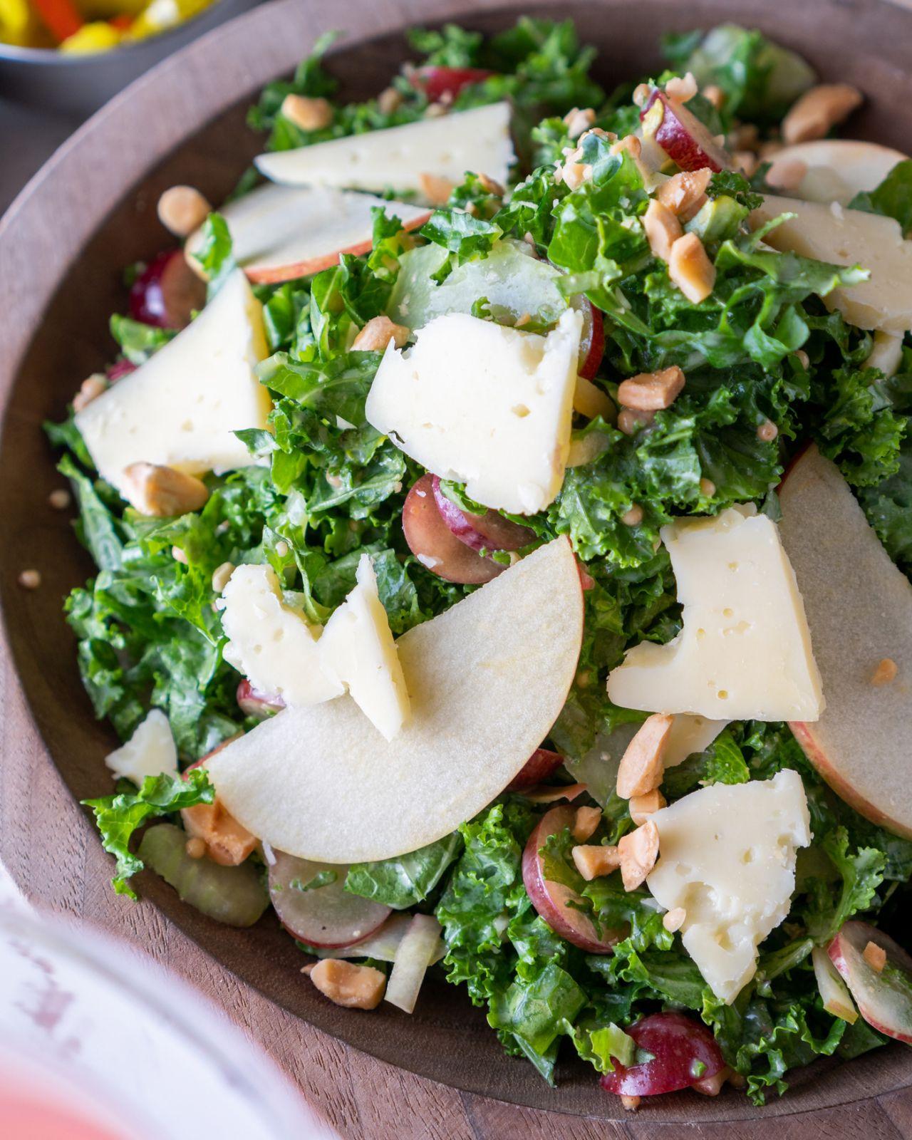 Legasea Kale Waldorf Salad