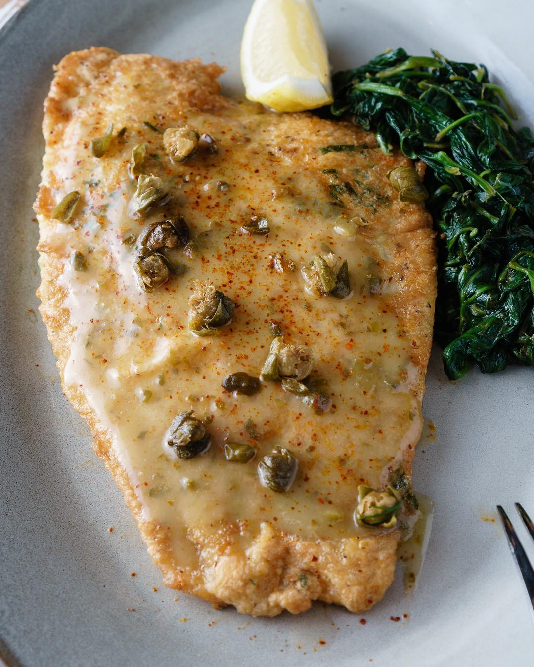 Flounder Francaise on a Friday (say that five times fast!) 🐟