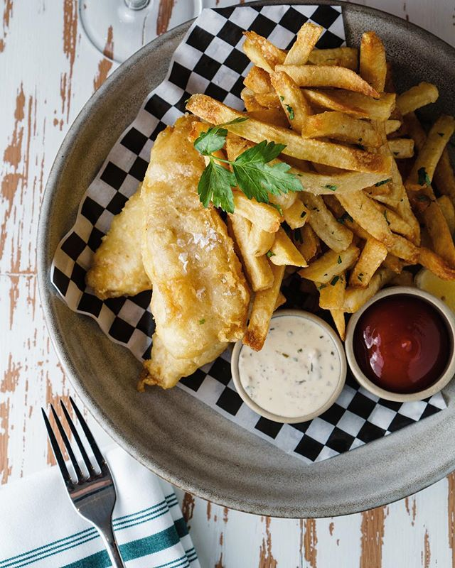 Tonight try our Chatham Cod Fish and Chips - a fresh twist on a classic dish 👌🏼