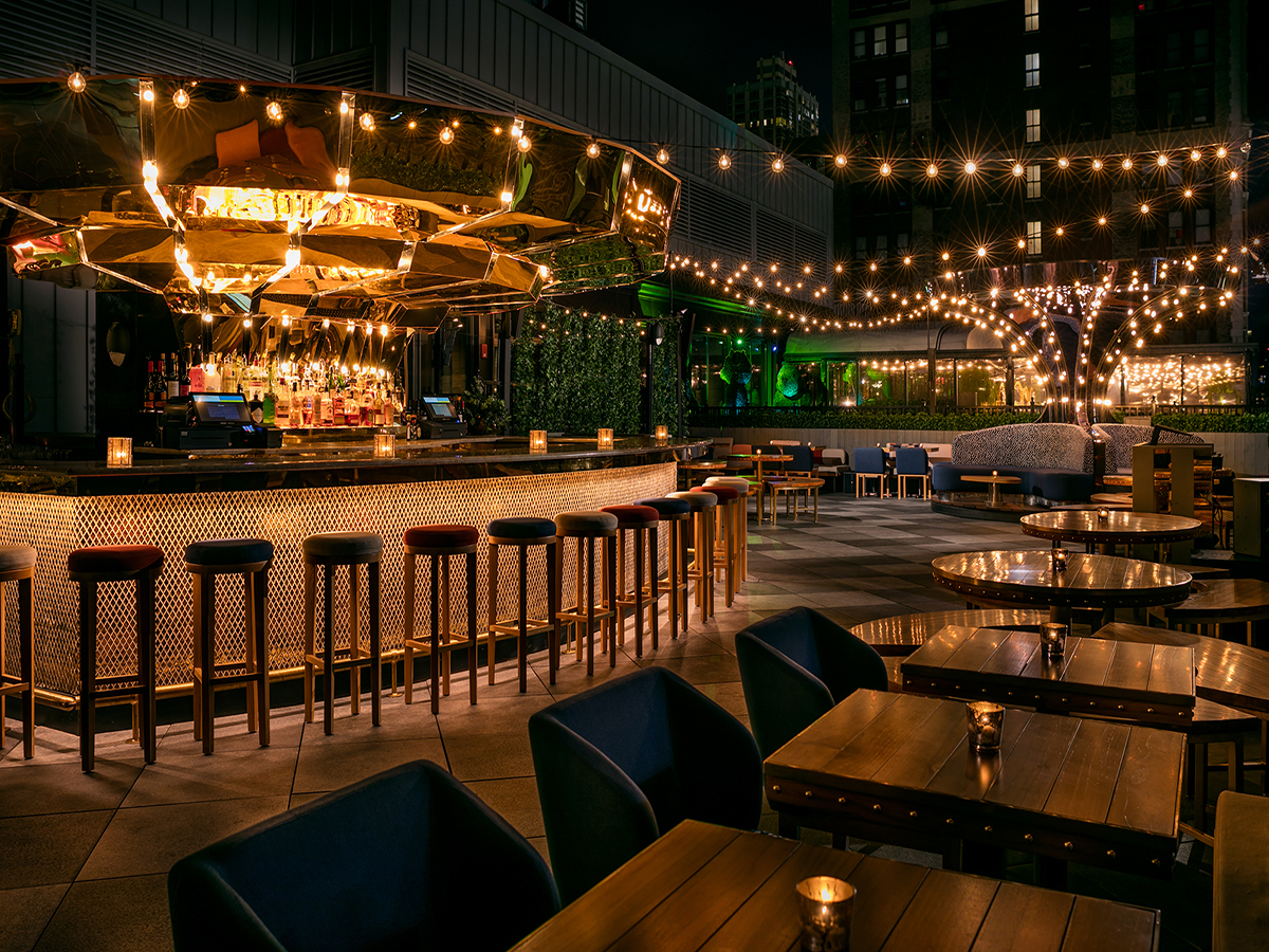 Magic Hour Rooftop Bar & Lounge - West Patio